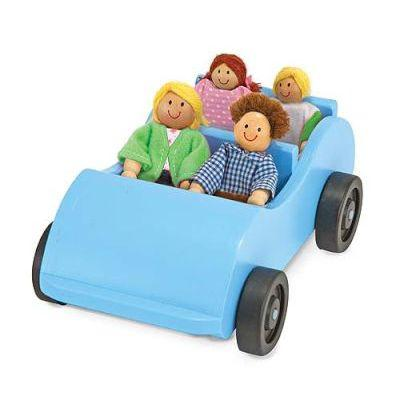 Melissa & doug doll houses & accessories - wooden car &