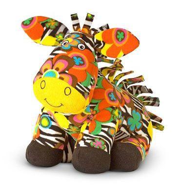 Melissa & doug soft toys - beeposh zelda zebra