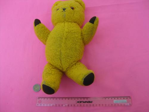 Retro collectable Ark teddy bear with brown glass eyes -