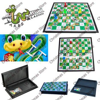 Snakes and ladders board game (large 18 x 36cm)