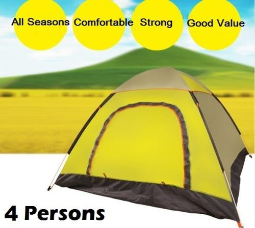 4 persons camp tent. good quality. all seasons.