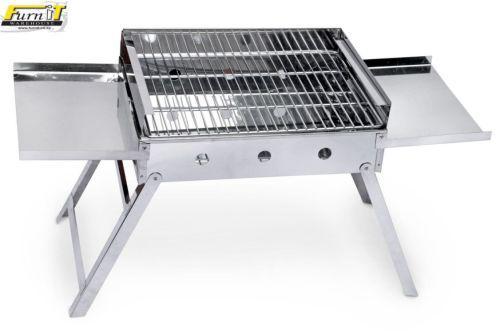 Chef camper (on-the-go) braai - foldaway - s/s - top quality