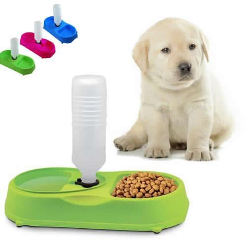 Pet feeder dog cat puppy water / food feeder (we offer