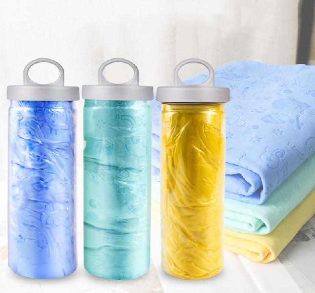 Pet soft pet dog bath towel cleaning hair dry towel