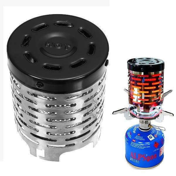 Portable heater butane gas stove burner warm cap cover for
