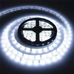 5m 5050 waterproof smd led strip light - white