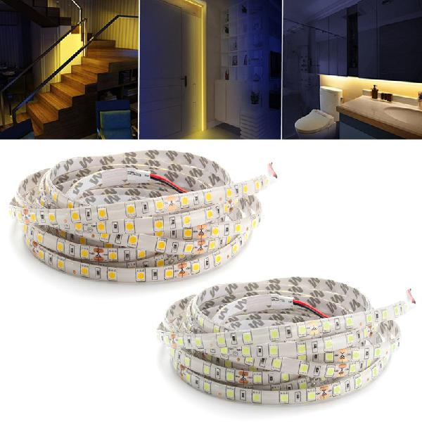 5m 60w 5050 smd waterproof 300leds strip light pure white