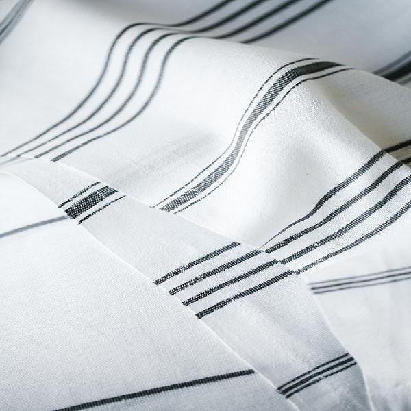 Elim towel - dark grey