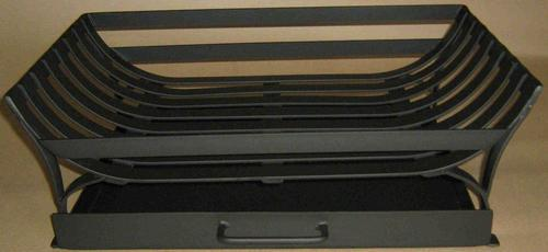 Fireplace Curved grate / ash pan combo 50 wide x 30 deep cm