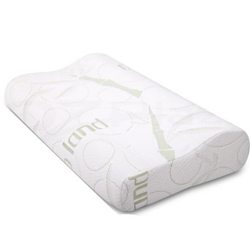 Hazlo contour gel infused memory foam pillow with breathable