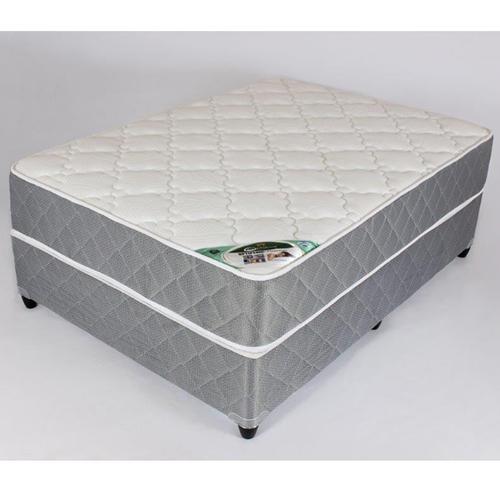 Optipedic platinum queen bed set