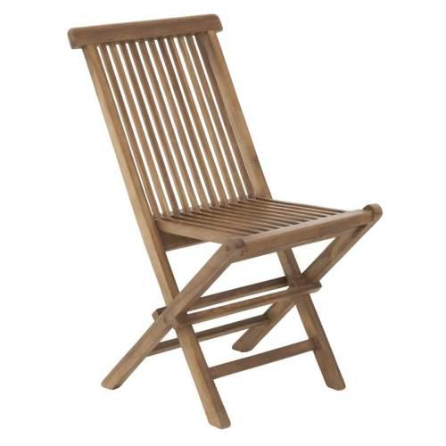 Outdoor Folding Chairs (Solid Teak Wood)