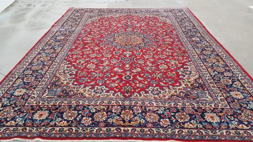 Persian najaf abad carpet 396cm x 298cm hand knotted