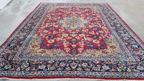 Persian najaf abad carpet 404cm x 300cm hand knotted