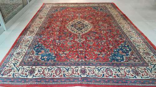 Persian najaf abad carpet 418cm x 298cm hand knotted