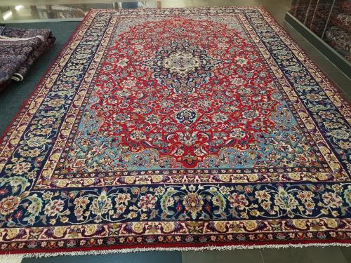 Stunning large size kashan carpet 467 x 325 cm