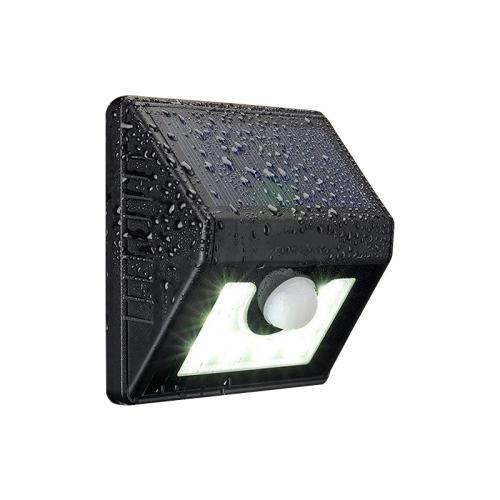 Solar sensor led outdoor wall garden light (8 leds)