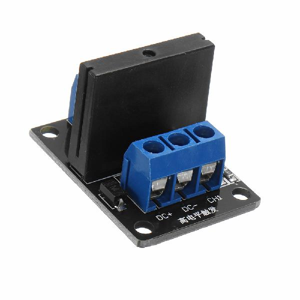 5pcs 1 channel dc 12v relay module solid state low level