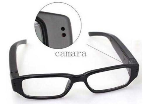 Mini hd 720p spy camera glasses hidden eyewear