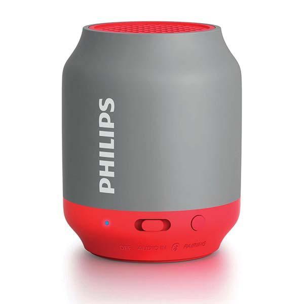 Philips bt50 bluetooth speaker - red