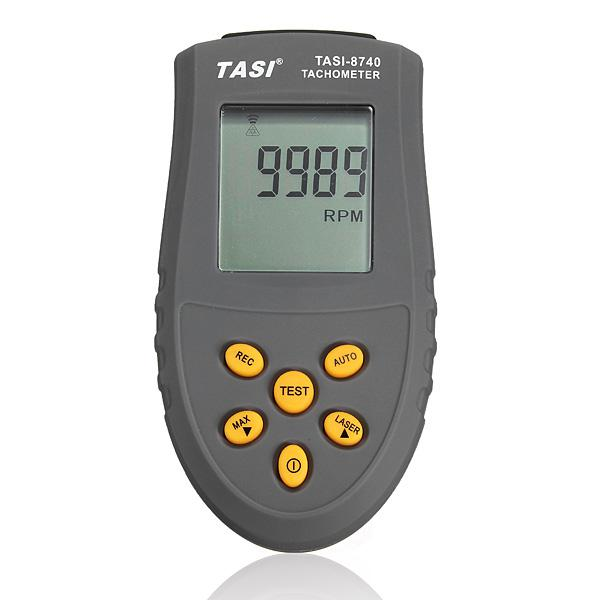 Tasi-8740 non contact lcd digital laser tachometer rpm speed