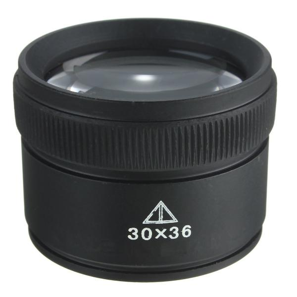 30x36mm jewelry optical glass lens loupe magnifier watch