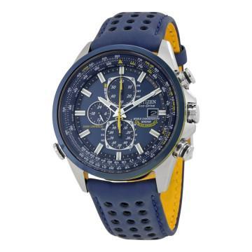 Citizen eco drive blue angels world chronograph men's watch