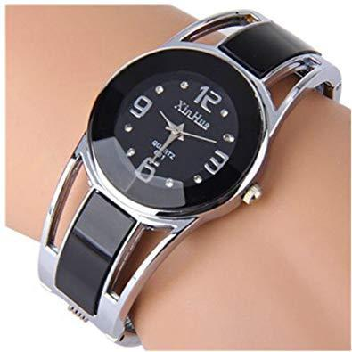 Eleoption womens bangle watch bracelet design quartz watch