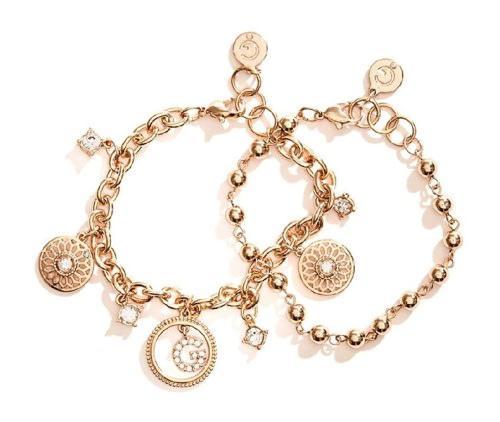 Guess ladies gold-tone bracelets | 3 options