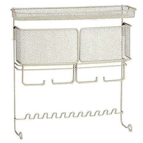 Interdesign classico hanging fashion jewelry organizer for
