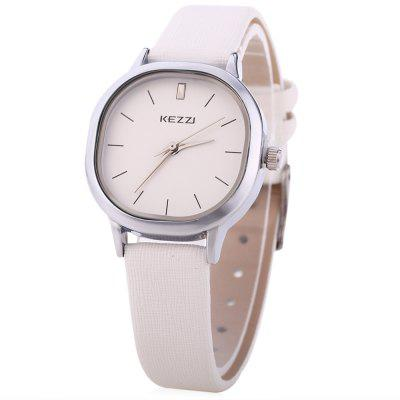 Kezzi k - 1155 l women quartz watch fashion casual leather