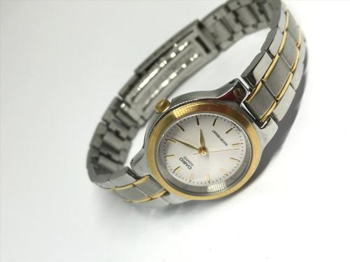 Ladies casio two tone