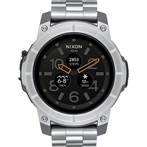 Nixon the mission androidwear smartwatch touchscreen