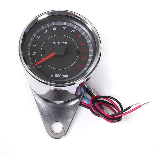 Motorcycle speedometer tachometer odometer rev counter