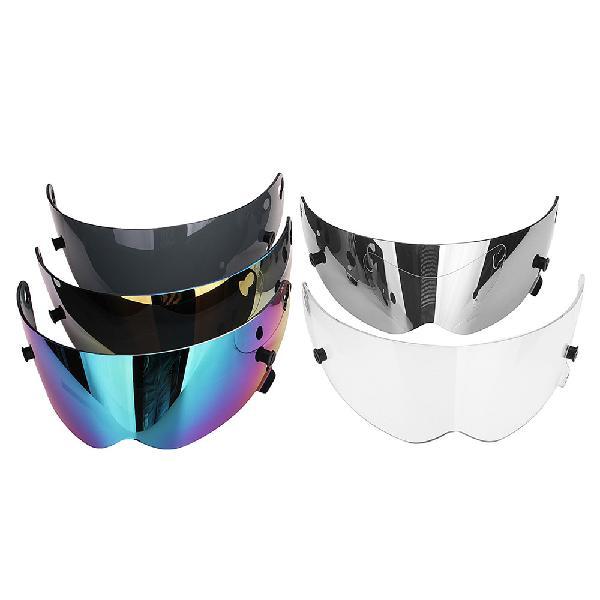 Universal motorcycle full face helmet visor lens motorbike