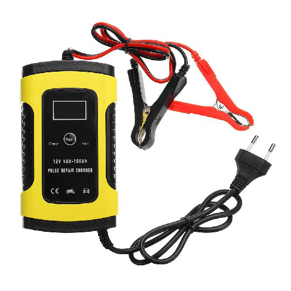 Imars 12v 6a pulse repair lcd battery charger for car