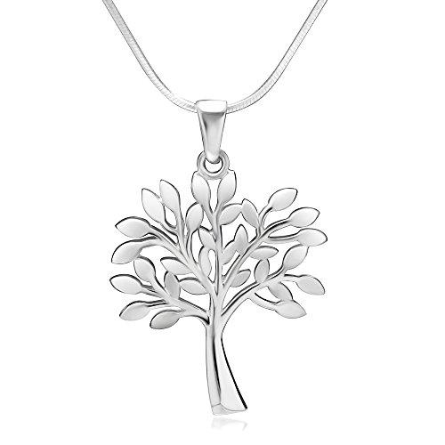 925 Sterling Silver Tree of Life Symbol Charm Pendant