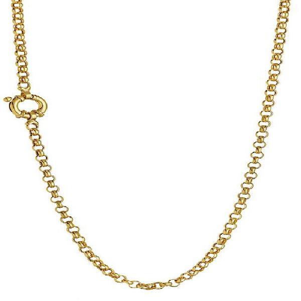 9k / 9ct gold rolo / belcher signoretti chain: 3.5mm wide,