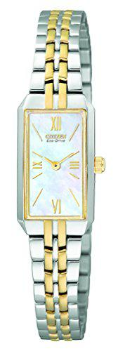 Citizen women's eg2694-59d eco-drive two-tone dress watch