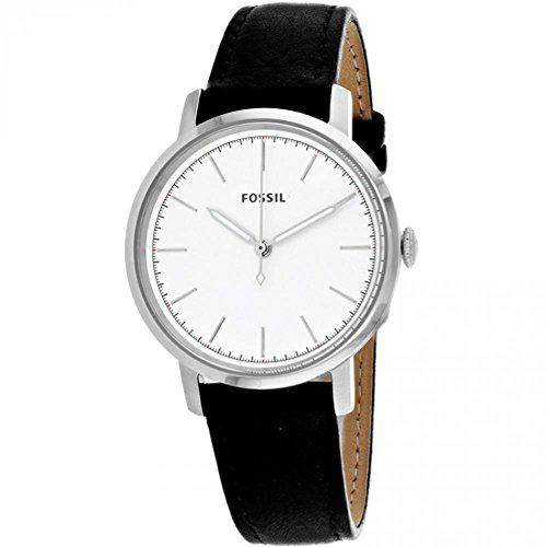 Fossil women's es4186 neely three-hand black leather watch