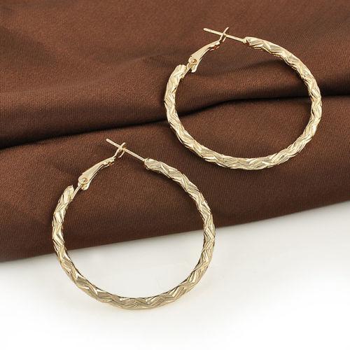 New fashion women's ear hoop twisted dangle earrings jewelry