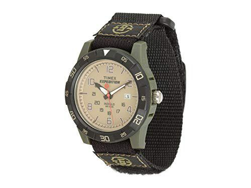 Timex Men's T49833 Expedition Rugged Analog Grey Fast Wrap