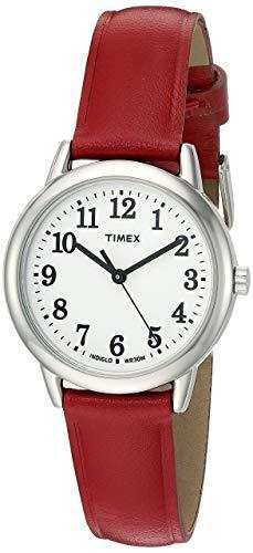 Timex Women's T2N952 Elevated Classics Dress Watch With Red