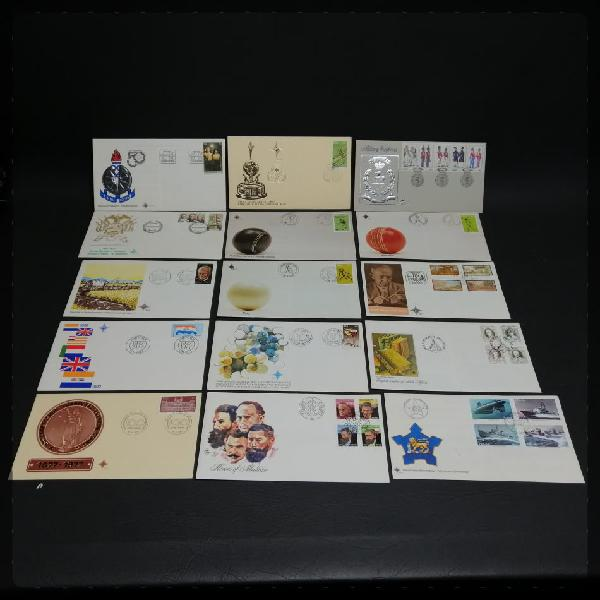 Large vintage south african 1st day cover collection (bid