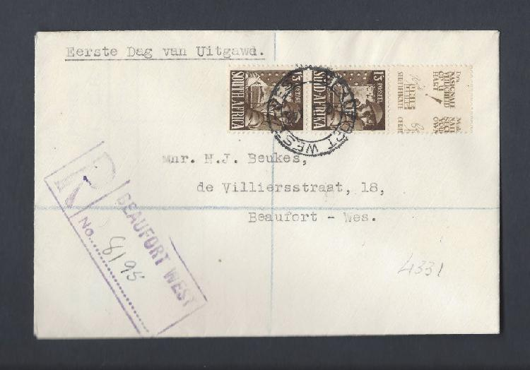 Large war signaller fdc - very scarce!