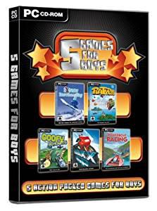 Just games 5 games for boys (pc cd) (u)