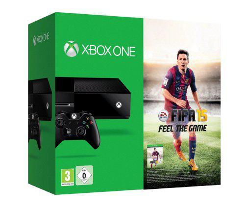 Microsoft xbox one 500 gb console with fifa 15 game