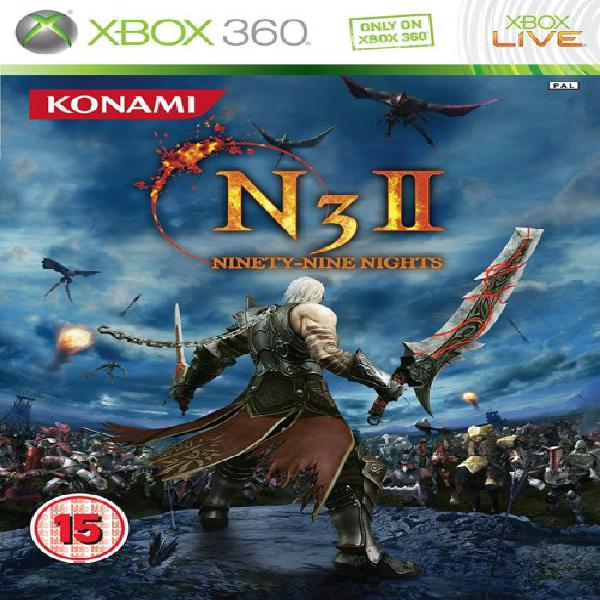 N3 ninety-nine nights ii game for xbox 360