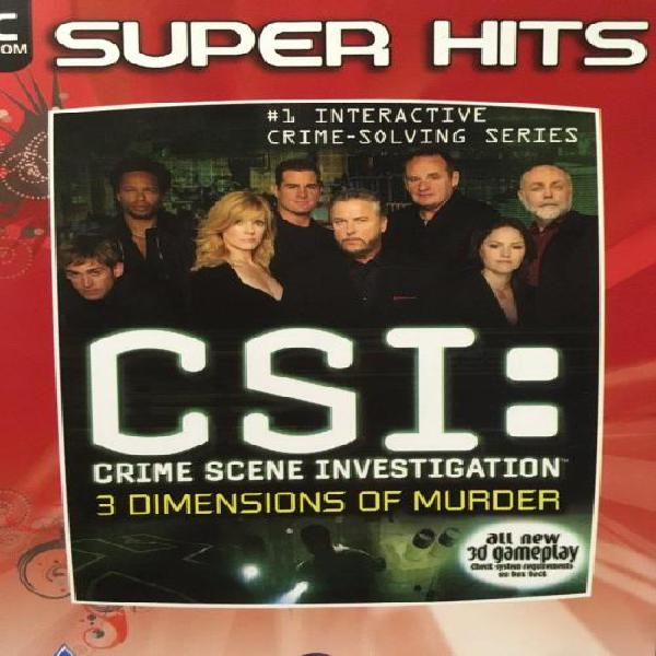 PC - CSI - Crime Scene Investigation - 3 Dimensions of