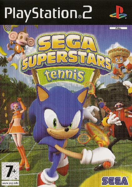 SEGA Super Stars Tennis (PlayStation 2)